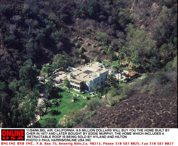 Eddie House「11/24/96.Ble Air, California. 6.5 million dollars will buy you the house that Cher built in 1977. Th」:写真・画像(18)[壁紙.com]
