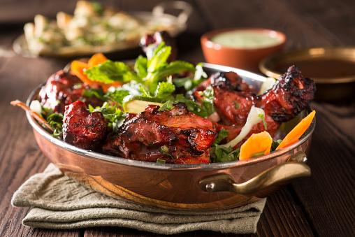 Fine Dining「Tandoori Chicken」:スマホ壁紙(1)