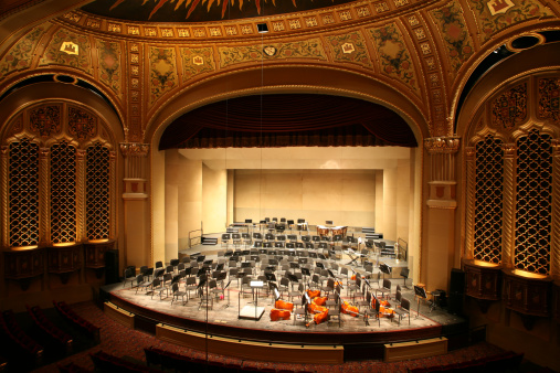 Classical Style「Classical Music Concert Hall」:スマホ壁紙(1)