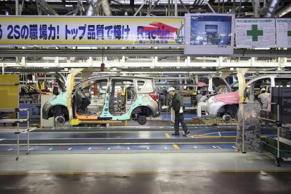 Industry「New Toyota Production Line Opens」:写真・画像(4)[壁紙.com]