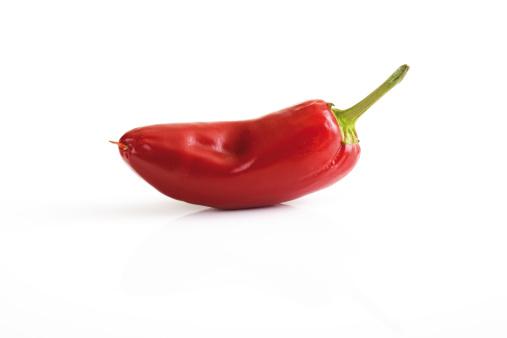 Pepper - Seasoning「Red Fresno pepper, close-up」:スマホ壁紙(4)