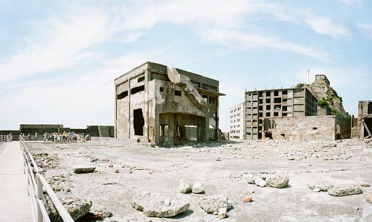 Destruction「Battleship Island - Gunkanjima」:スマホ壁紙(3)