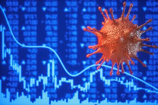 Trading「Concept Of Coronavirus Crisis」:スマホ壁紙(13)