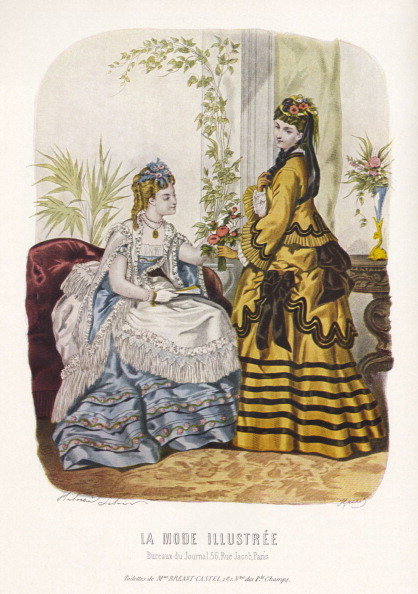 1900「La Mode Illustrée.」:写真・画像(0)[壁紙.com]