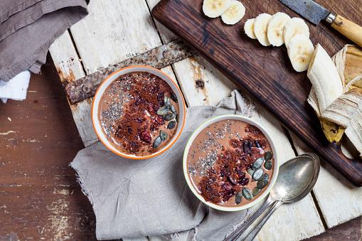 Mash - Food State「Garnished vegan and sugarfree smoothie bowl」:スマホ壁紙(4)