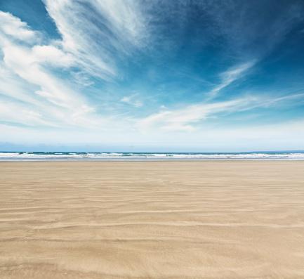 自然の景観「Ocean Beach」:スマホ壁紙(3)