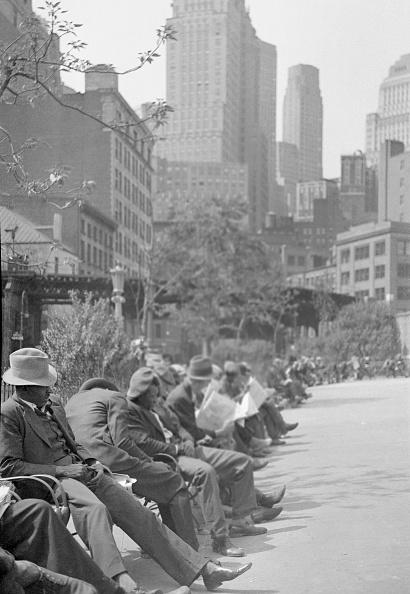 Bench「New York In The Great Depression」:写真・画像(4)[壁紙.com]