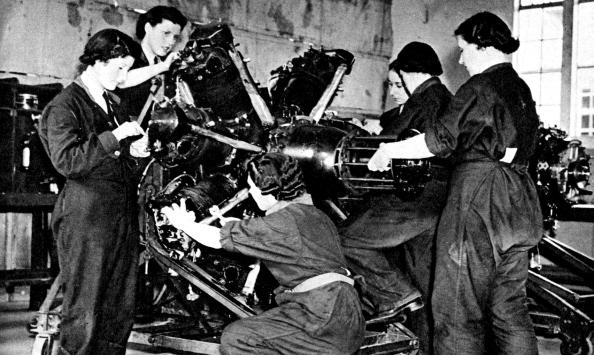 Air Force「World War 2: British Women's Auxiliary Air Force」:写真・画像(10)[壁紙.com]