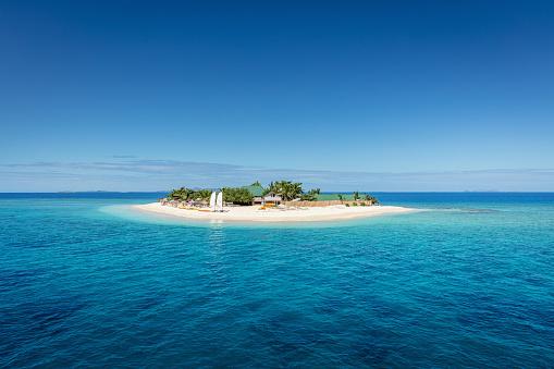 Pacific Islands「Fiji Mamanuca Islands Beautiful Small Islet」:スマホ壁紙(3)