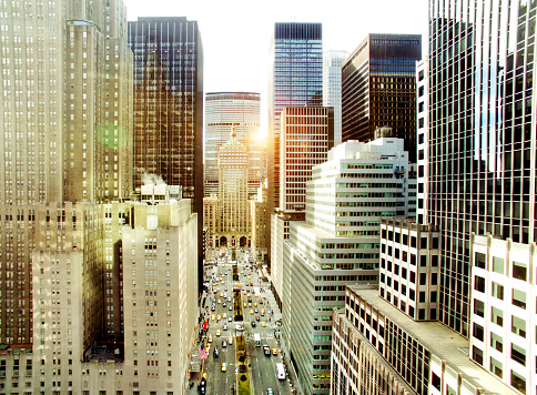 Midtown Manhattan「Park Avenue, New York City」:スマホ壁紙(11)