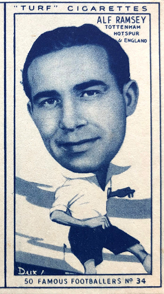 Grass「Alf Ramsey Tottenham Hotspur Cigarette Card 1951」:写真・画像(18)[壁紙.com]