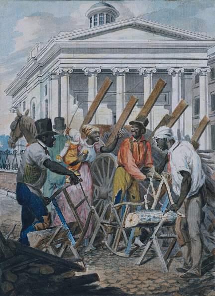 Metropolitan Museum Of Art - New York City「Black Sawyers Working In Front Of The Bank Of Pennsylvania」:写真・画像(9)[壁紙.com]