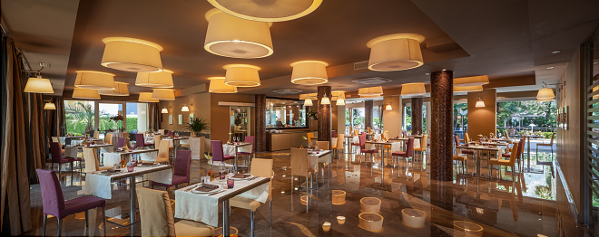 Buffet「Luxury Restaurant Room in a 4 stars Hotel」:スマホ壁紙(18)