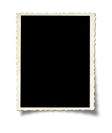 The Past「A white photo frame on a white wall」:スマホ壁紙(17)