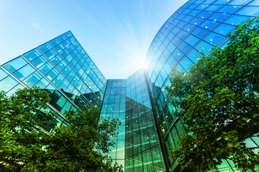 Toned Image「Corporate Modern Offices Building in London」:スマホ壁紙(13)