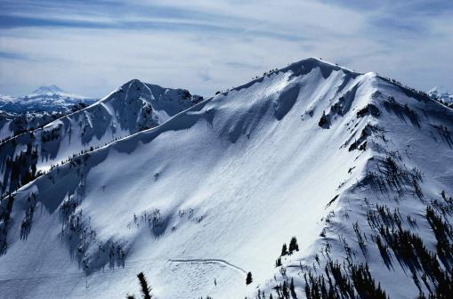クリスタル山「Crystal Mountain, Washington」:スマホ壁紙(1)