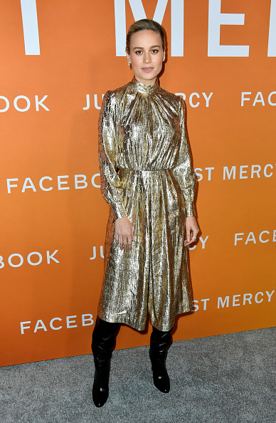 "Metallic Dress「LA Community Screening Of Warner Bros Pictures' ""Just Mercy"" - Arrivals」:写真・画像(10)[壁紙.com]"