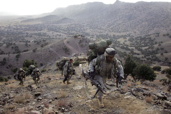 Army Soldier「U.S. Forces Hunt Taliban Near Pakistan Border」:写真・画像(12)[壁紙.com]