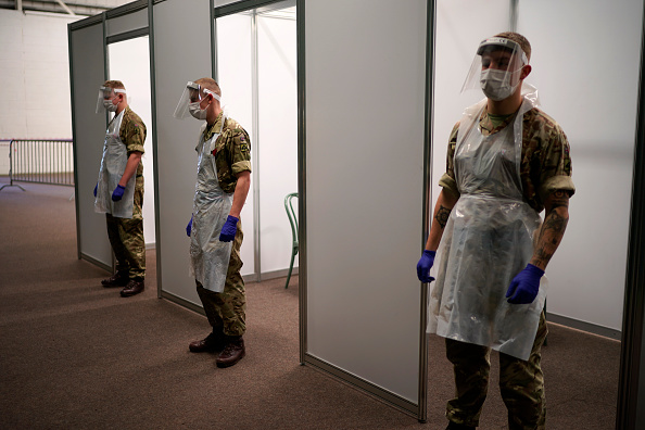 Army Soldier「Flow Testing Takes Place In Liverpool Assisted By UK Military」:写真・画像(5)[壁紙.com]