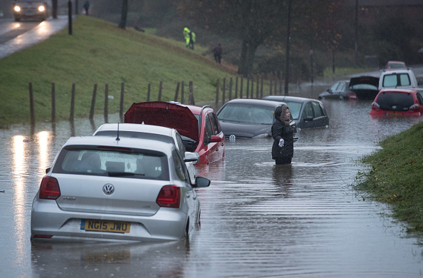 Torrential Rain「Met Office Issue Severe Weather Warnings After A Weekend Of Storms」:写真・画像(15)[壁紙.com]
