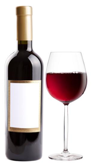 Tasting「Bottle and glass of red wine」:スマホ壁紙(10)