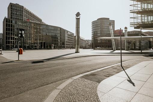 Berlin「Berlin Covid19 shutdown postdamer platz」:スマホ壁紙(4)