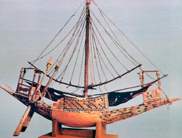 Model - Object「Model boat with rigging, tomb of Tutankhamun, 14th century BC.」:写真・画像(13)[壁紙.com]