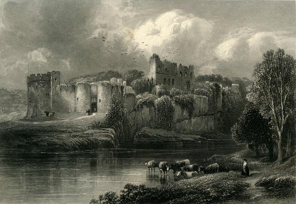 Water's Edge「Chepstow Castle」:写真・画像(18)[壁紙.com]