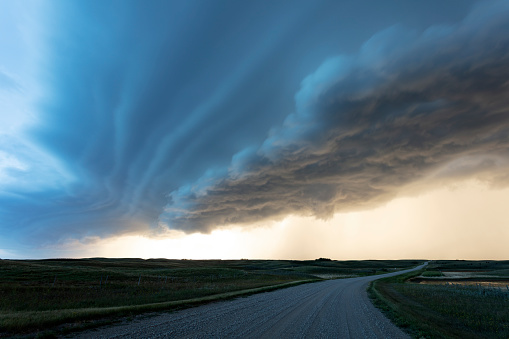 Mammatus Cloud「Prairie Storm Saskatchewan Canada」:スマホ壁紙(5)