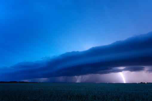 Moose Jaw「Prairie Storm Saskatchewan Canada」:スマホ壁紙(1)