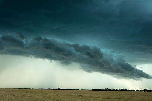 Mammatus Cloud「Prairie Storm Saskatchewan Canada」:スマホ壁紙(18)
