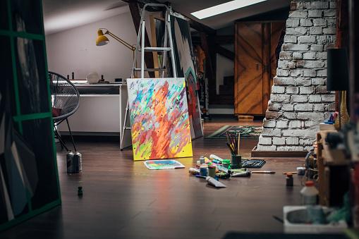 Art「Art studio」:スマホ壁紙(8)