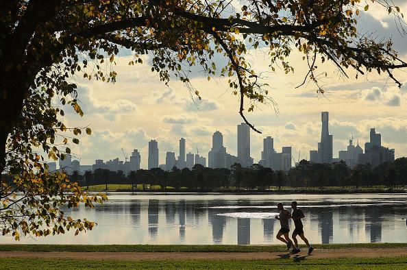 City「General Views Of High Rise Tower Blocks In Melbourne」:写真・画像(9)[壁紙.com]
