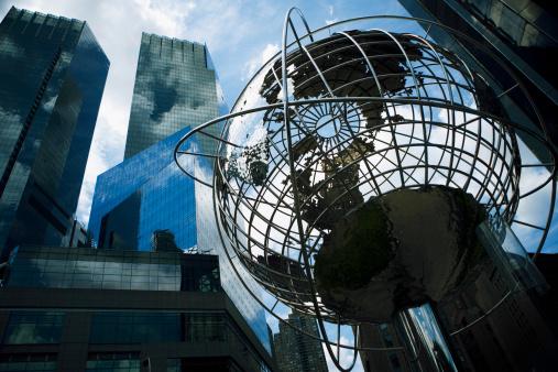 Sculpture「World globe, Manhattan, NY, USA」:スマホ壁紙(10)