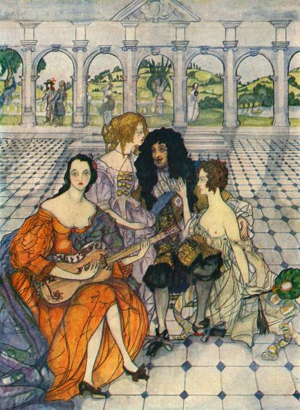 Restoring「Charles II with his mistresses」:写真・画像(19)[壁紙.com]