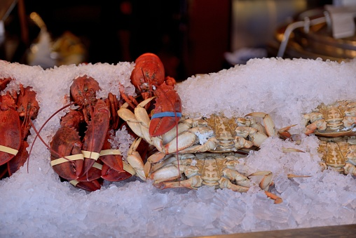 City of Monterey - California「Monterey, restaurant crab specialties, fish ...」:スマホ壁紙(11)
