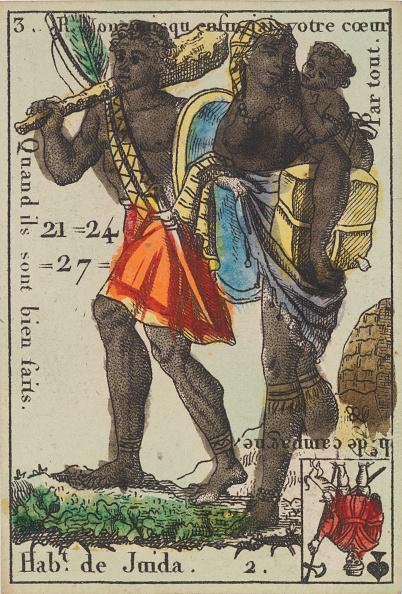 Recreational Pursuit「HabT De Juida From Playing Cards (For Quartets) Costumes Des Peuples Étrangers,」:写真・画像(17)[壁紙.com]