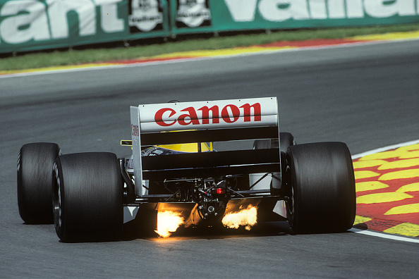 Flame「Nigel Mansell, Grand Prix Of Great Britain」:写真・画像(9)[壁紙.com]