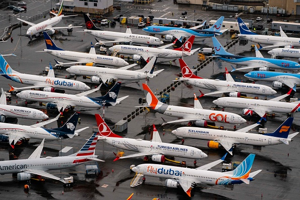 Stationary「Boeing Prepares For FAA Approval For The 737 Max To Fly Again」:写真・画像(5)[壁紙.com]