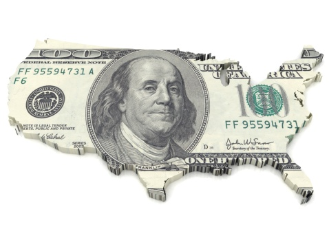 Currency Symbol「US Dollar map」:スマホ壁紙(9)