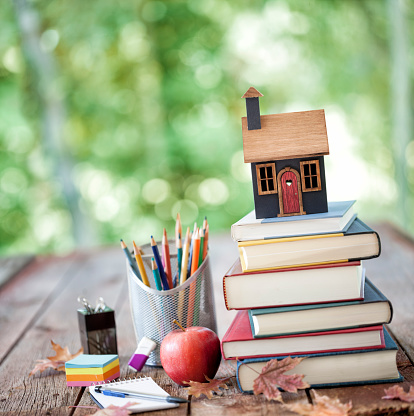 University Student「Home School Concept」:スマホ壁紙(19)