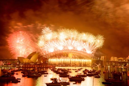 花火「Sydney New Year's Eve」:スマホ壁紙(7)