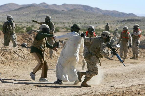 Aggression「Marines Train At Twentynine Palms Marine Base Before Deployment To Iraq」:写真・画像(16)[壁紙.com]