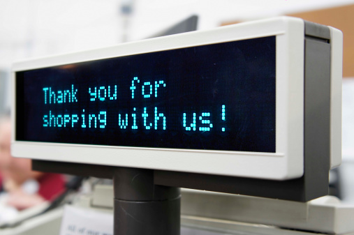 Point Of Sale「Thank you for shopping」:スマホ壁紙(3)
