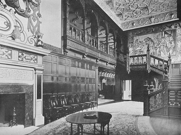 Wood Paneling「'Hurstbourne Park - The Earl Of Portsmouth', 1910」:写真・画像(9)[壁紙.com]