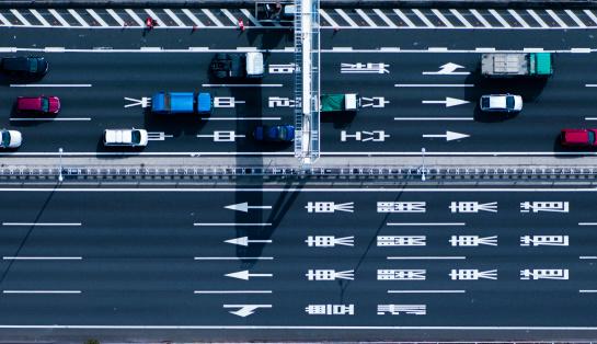 Tokyo - Japan「Down shot of highway」:スマホ壁紙(3)