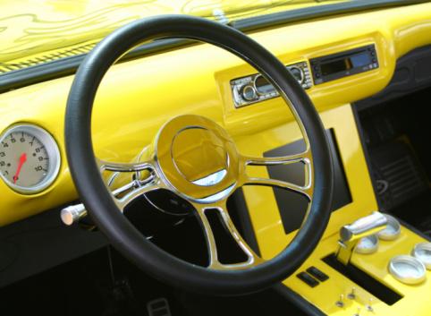 Hot Rod Car「Car Interior」:スマホ壁紙(9)