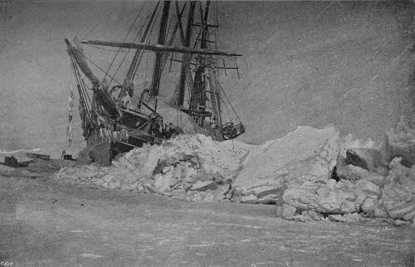 Snowdrift「'The Fram after an Ice-Pressure. 10 January, 1895', 1895」:写真・画像(3)[壁紙.com]