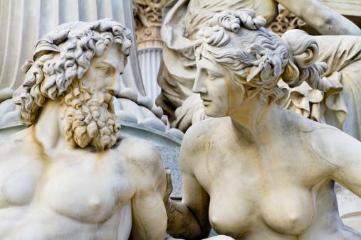 Female Likeness「Pallas-Athene-Brunnen, Vienna」:スマホ壁紙(1)