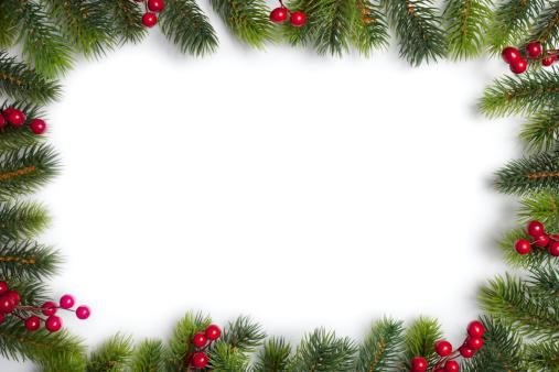 December「Christmas frame」:スマホ壁紙(17)